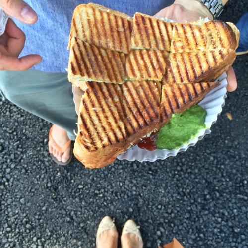 Grilled Sandwich from Jay Sandwich